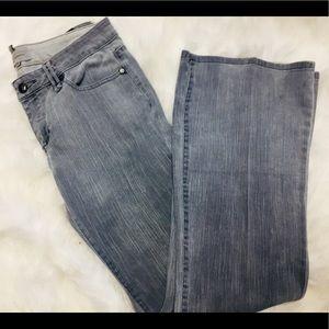 BCBGeneration Grey Wide Leg / Flare Jeans sz.30
